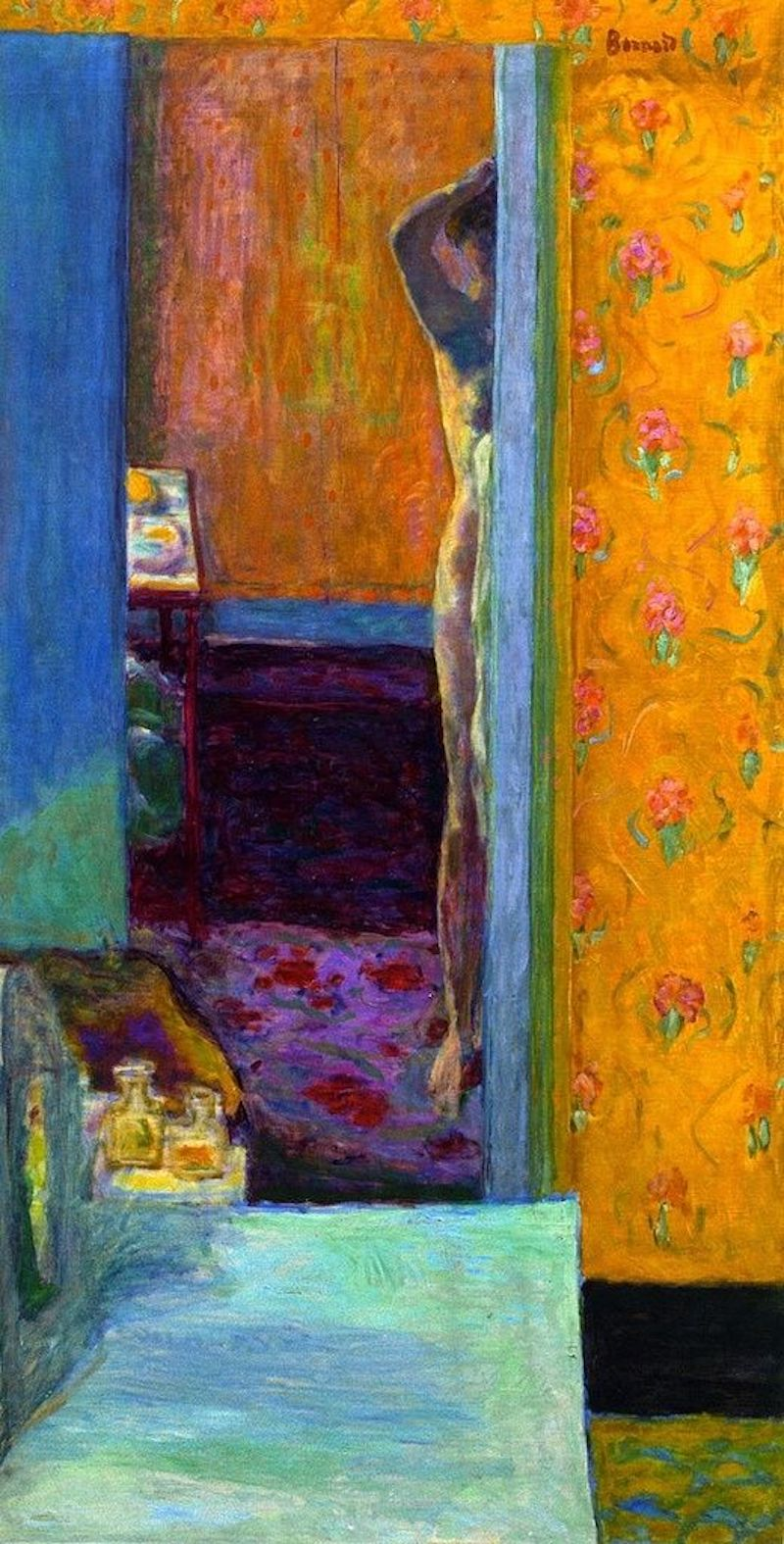 Nude in an Interior by Pierre Bonnard via DailyArt app, your daily dose of art getdailyart.com